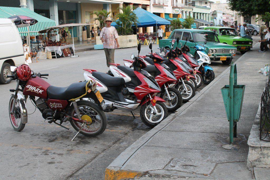 Скутеры на Кубе