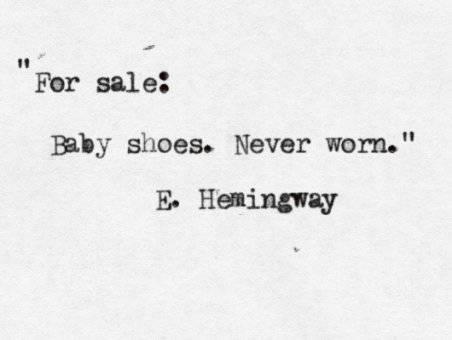 Самый короткий рассказ Хемингуэя