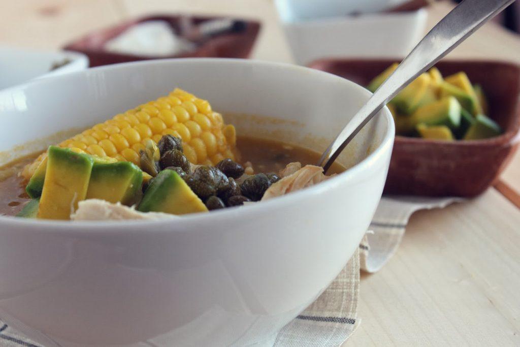 Суп ахиако