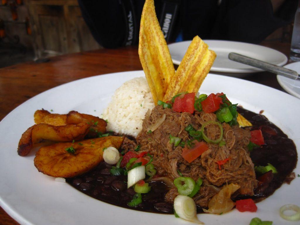 Национальная еда Кубы
