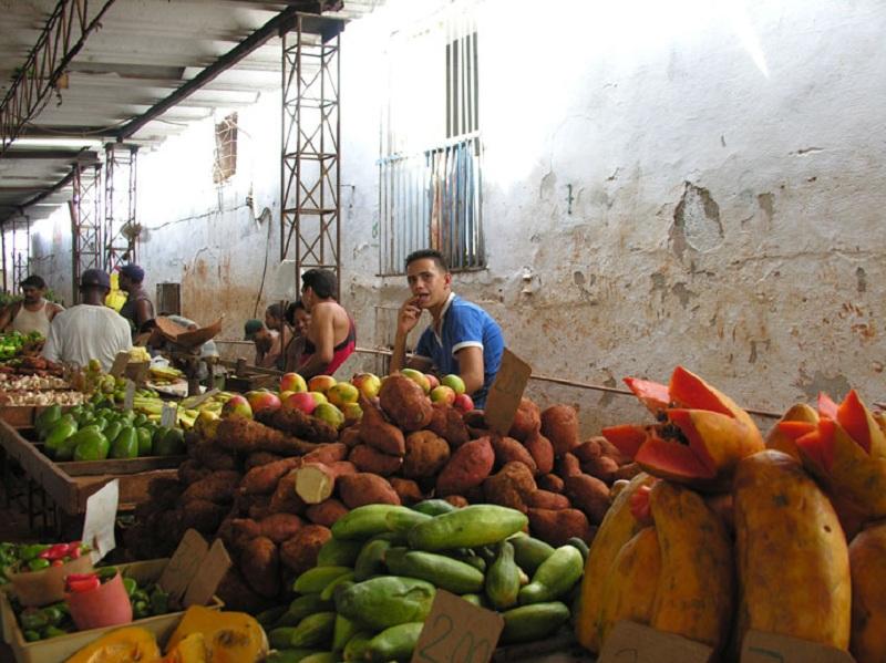 Фруктовый рынок Кубы