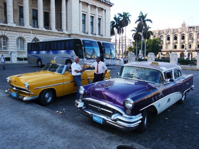 Ретро-автомобили Кубы