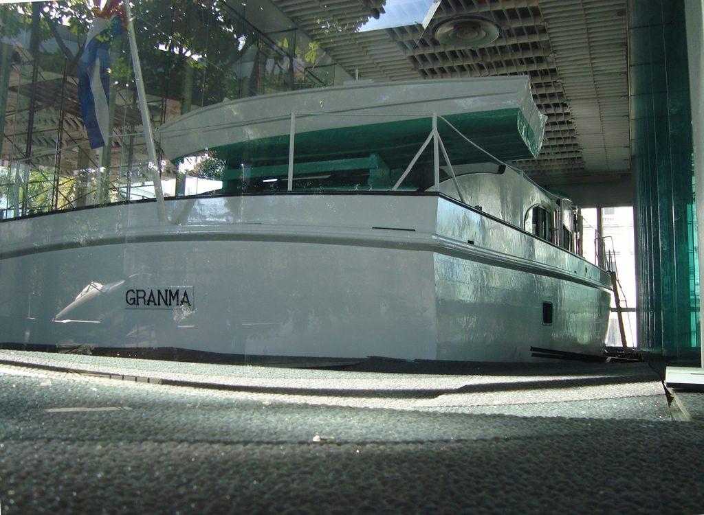 Яхта Гранма на Кубе