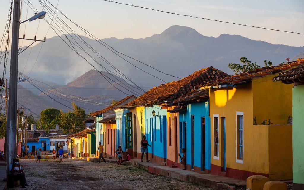 Дома на Кубе