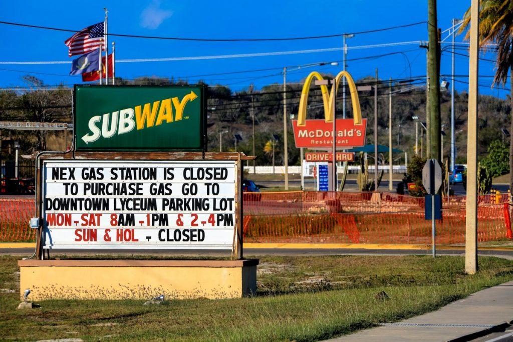 Макдональдс в Гуантанамо