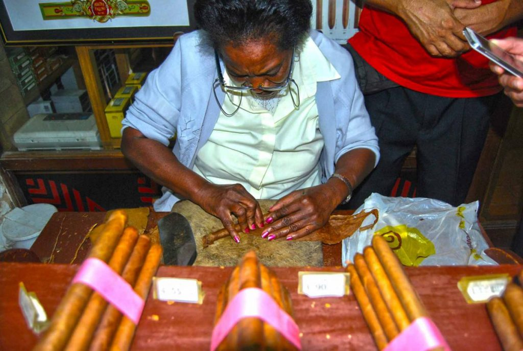 Изготовление сигар