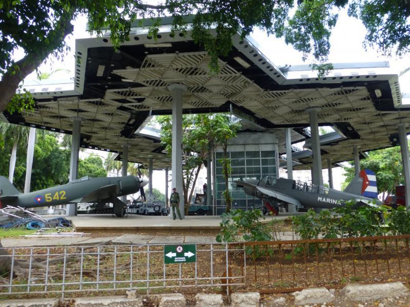 Музей старой техники на Кубе