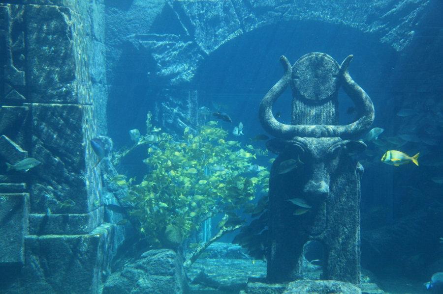 Кубинский подводный город