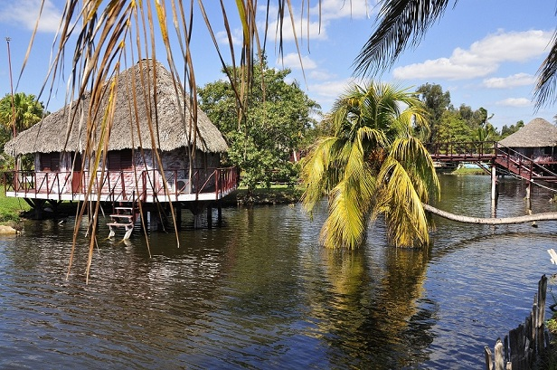 Индейская деревня Гуама