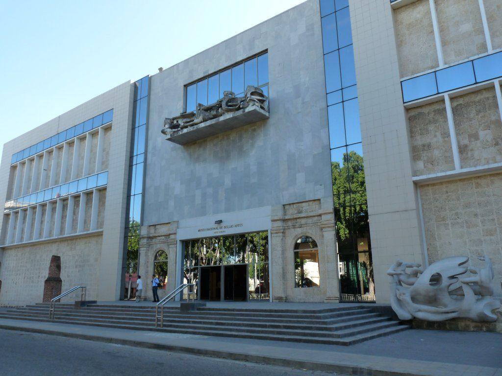 национальный музей изящных искусств на Кубе
