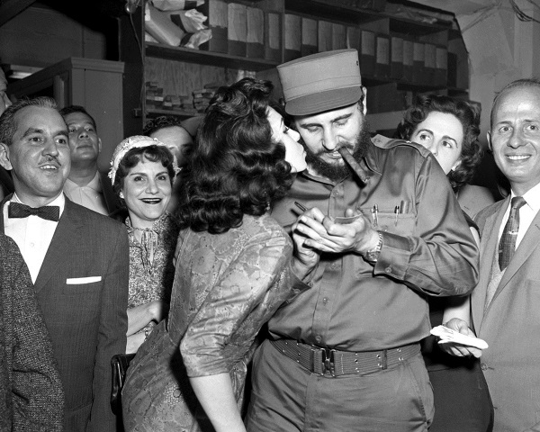 Фидель Кастро и женщины