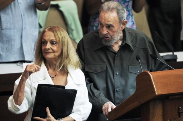 Вторая жена Фиделя Кастро
