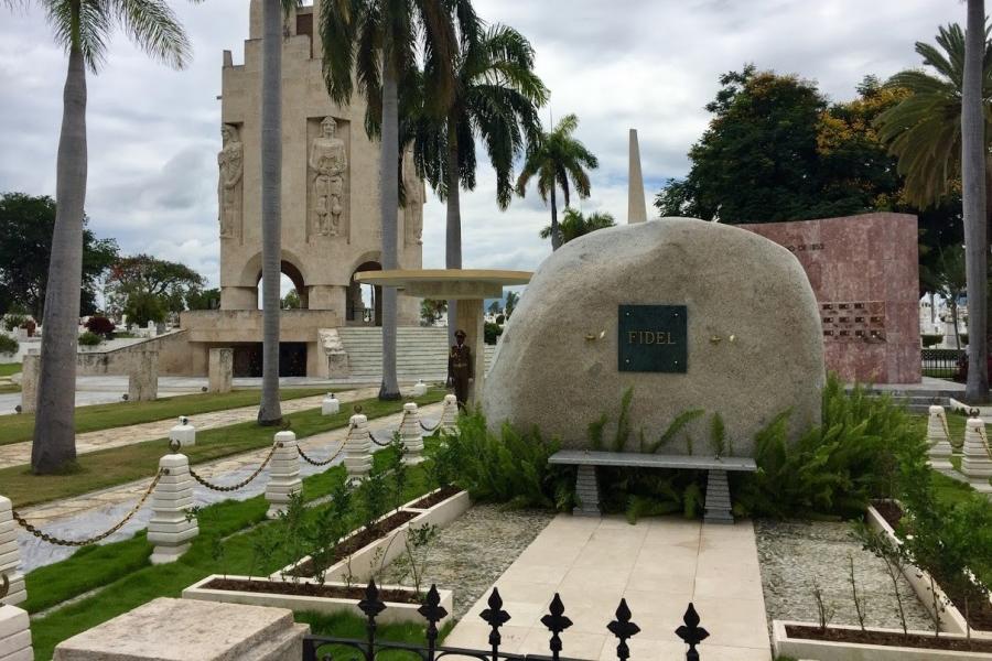 Памятник Фиделю Кастро